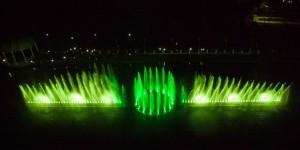 Шоу фонтанов в Абрау-Дюрсо